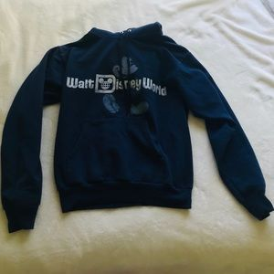 Navy blue Disney sweatshirt